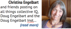 About - Posts by Christina Engelbart & Friends on all things Collective IQ, Doug Engelbart, and the Doug Engelbart Inst.